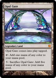 Magic: Opal Gate by OokamiCloud