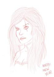 Katarina sketch by I-see-no-Bottle