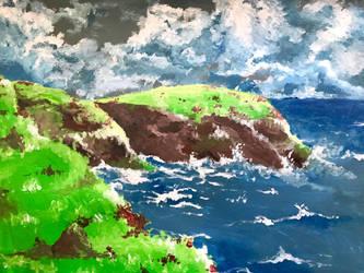 Green coast by peach-pies