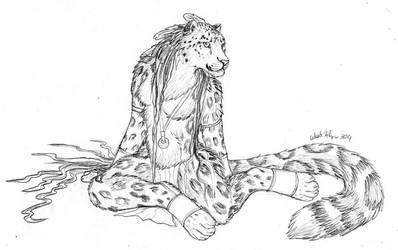 Snow Leopard Girl by autumnjaguar