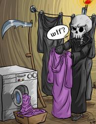 Death - Discworld I by DarkNessie