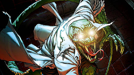 The Lizard by ProfessorAdagio