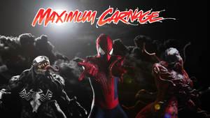 Spider-Man and Venom Maximum Carnage Poster #1 by ProfessorAdagio
