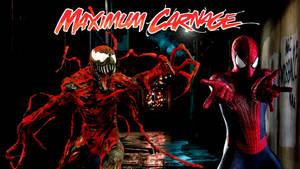 Spider-Man and Venom Maximum Carnage Poster #2 by ProfessorAdagio