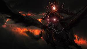 The Black Pegasus by ProfessorAdagio