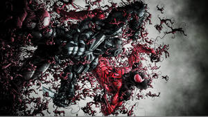Agent Venom Vs. The Scarlet Spider by ProfessorAdagio