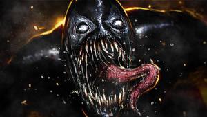 Mac Gargan Venom by ProfessorAdagio