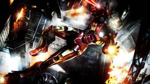 The Avenging Iron Man by ProfessorAdagio
