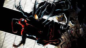The Superior Spider-Man Vs. The Spider Slayer by ProfessorAdagio