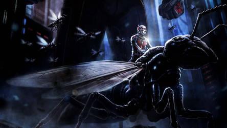 The Ant-Man by ProfessorAdagio