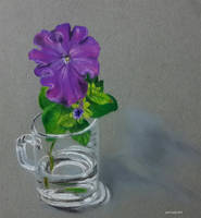 Flower In A Cup by Olvium