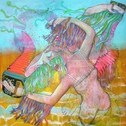 The Breeze. Revis Art, Painting, Munich by ReviOliver
