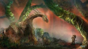 Dragon's statue by Dapasg