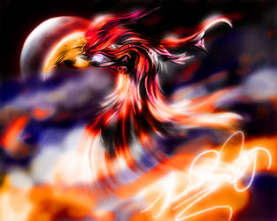 The Night Phoenix by xAnacondax