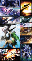 10 Year Collage by xAnacondax