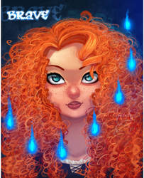 Brave: Merida by mintwinter