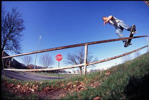 Kyle Huge Boardslide by xxtd0gxx