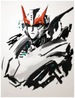Doodle of Prowl by Aiuke