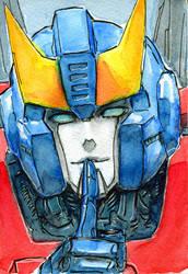 Smokescreen g1 watercolor sketch by Aiuke