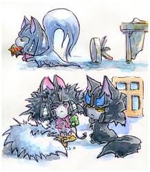 Kitty AU 7 by Aiuke