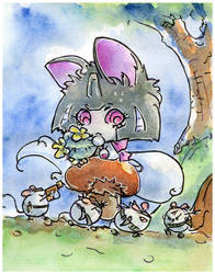 Kitty AU 8 by Aiuke