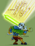 The Cosmic Monk by Haaspodge