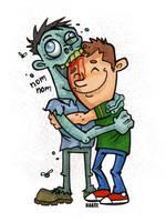 Hug a Zombie Day by Haaspodge