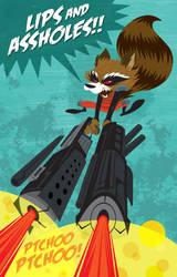 RocketRaccoon by Haaspodge