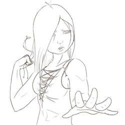 Eyleane sketch by Vorador2114