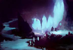 Icy enviro by JonathanMacgregor