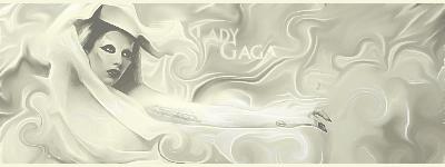Lady Gaga (smudge?) by Hederath