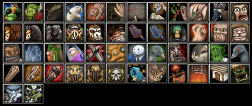 Warcraft 3 Icon Compilation by stanakinskywalker