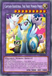 Captain Equestria (MLP): Yu-Gi-Oh! Card by LordR29