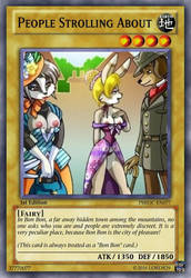 People Strolling About (Pleasure Bon Bon) YGO Card by LordR29