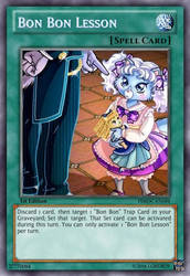 Bon Bon Lesson (Pleasure Bon Bon) Yu-Gi-Oh! Card by LordR29