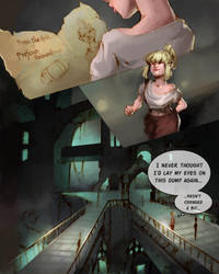 The Returned - League of legends - Issue 1 Pg1 by Caomha