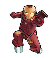 Avengers Lego - IronMan by RobKing21