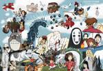 Studio Ghibli - Tribute by Juggernaut-Art