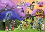 Ghibli's Parade by Juggernaut-Art