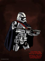 Star Wars The Last Jedi - Captain Phasma by Juggernaut-Art