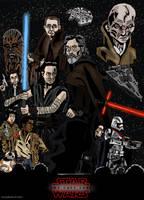 Star Wars the Last Jedi - Poster by Juggernaut-Art