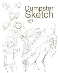 Dumpster - Sketch by i-Crunk