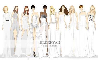 BLUERYAN Spring Summer 2012 Back to Basic Sketches by blueryan