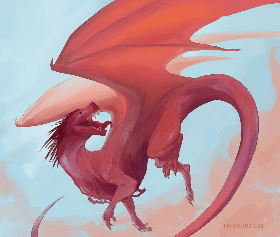 Desert dragon #2 by Demortum