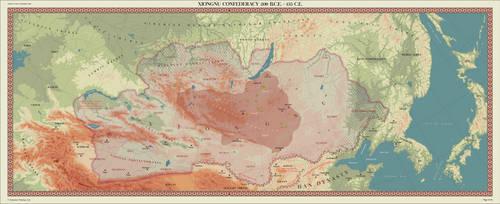 Xiongnu Confederacy by zalezsky