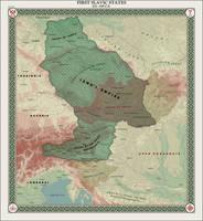 HAoE: First Slavic States by zalezsky