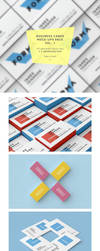 FREE Business Cards Mockups by bulbfish-studio