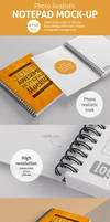 Notepad Mockups Pack by bulbfish-studio