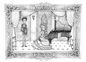 Victor's Piano by Esperta