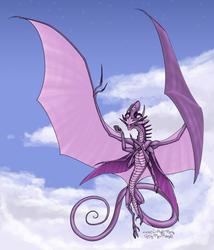 A fistful of stars - the Arcanist (FlightRising) by MyraMidnight